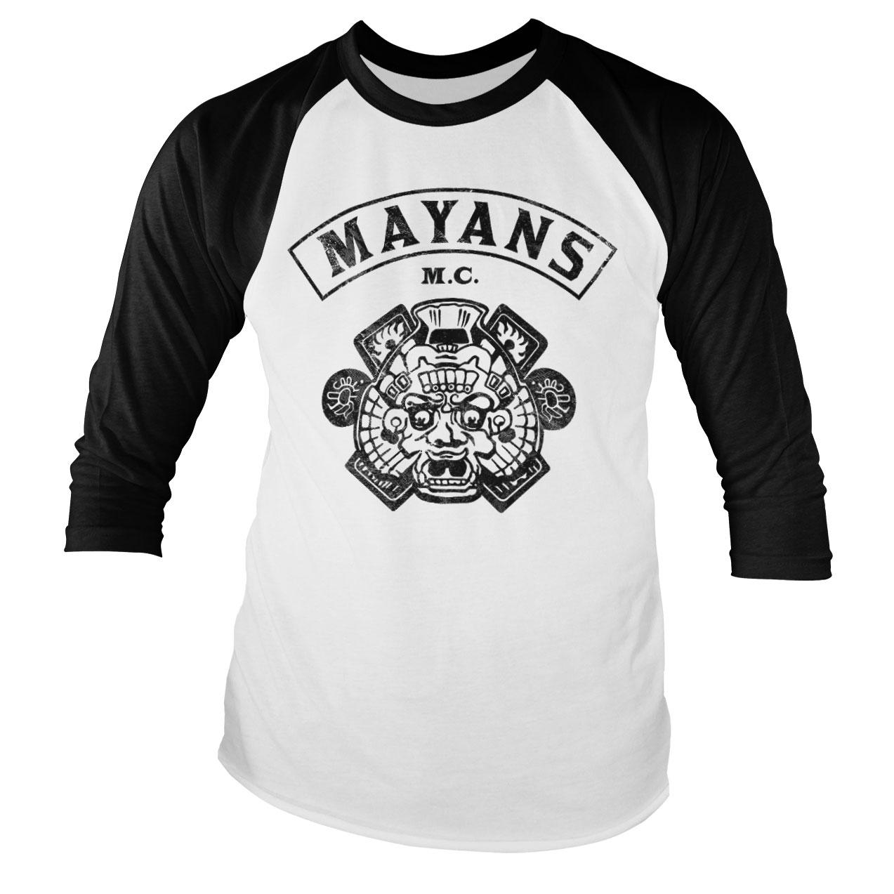 Tričká s trojštvrťovým rukávom Mayans M.C.