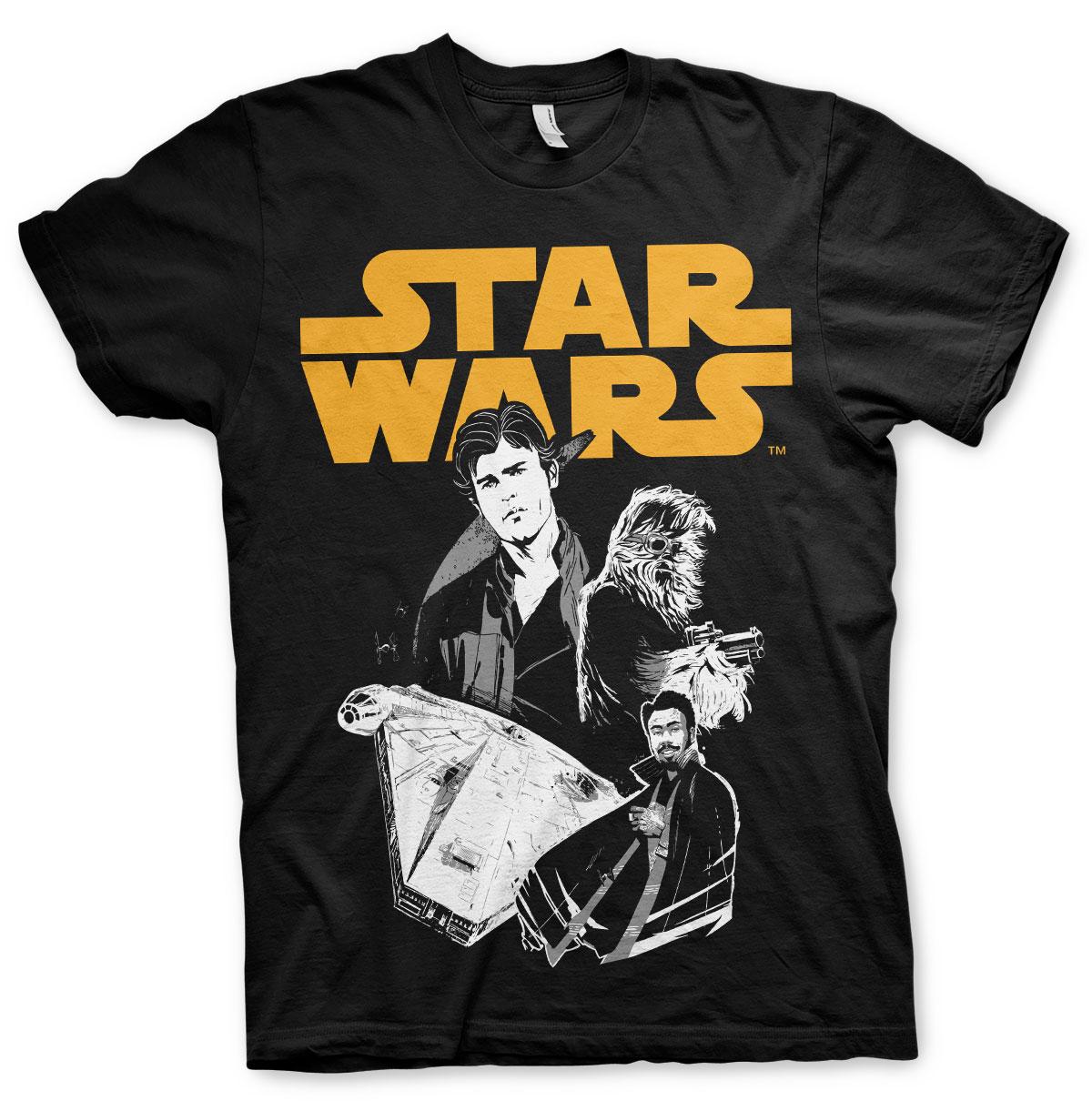 Tričká Solo A Star Wars Story