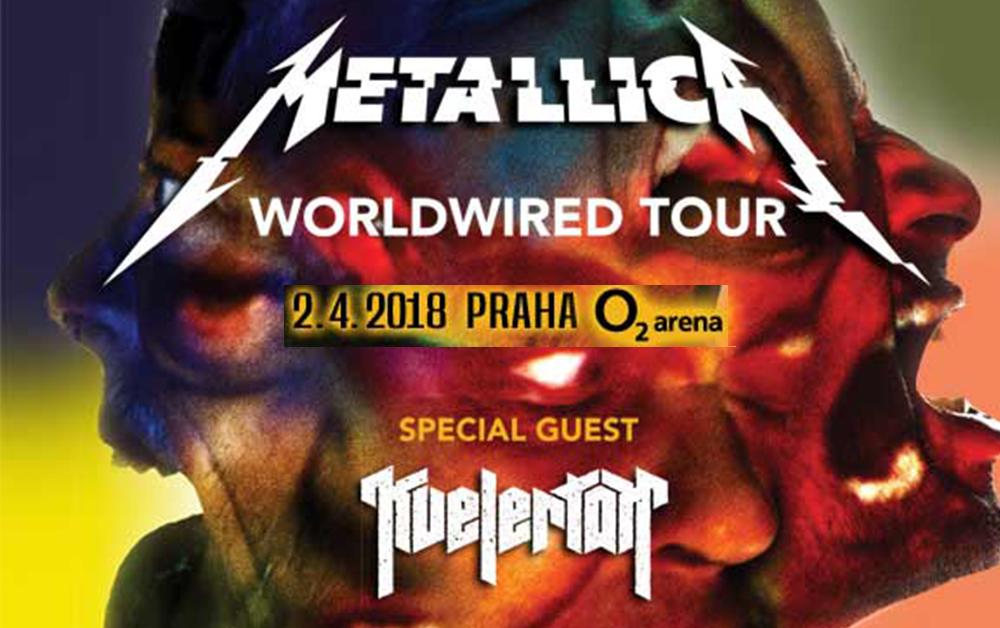 Metallica Praha 02 Arena