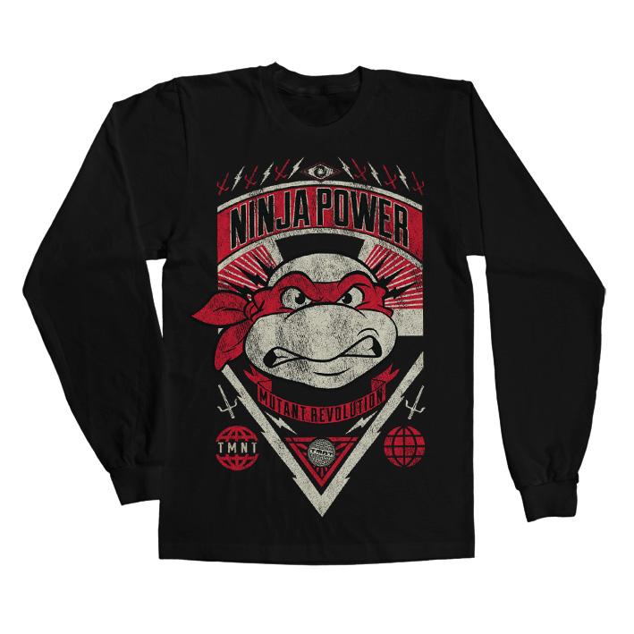 Tričká s dlhým rukávom Teenage Mutant Ninja Turtles
