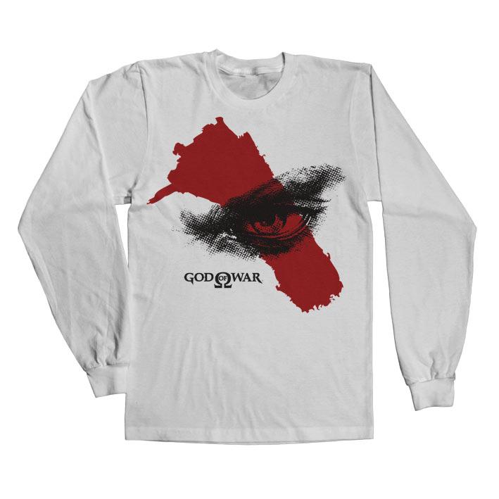 Tričko s dlhým rurkávom God of War