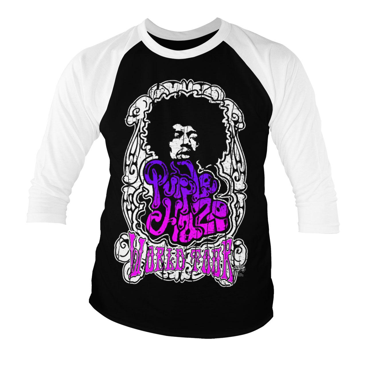 Tričká s trojštvrťovým rukávom Jimi Hendrix