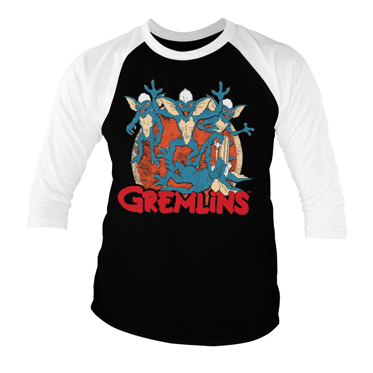 Tričká s dlhým rukávom Gremlins