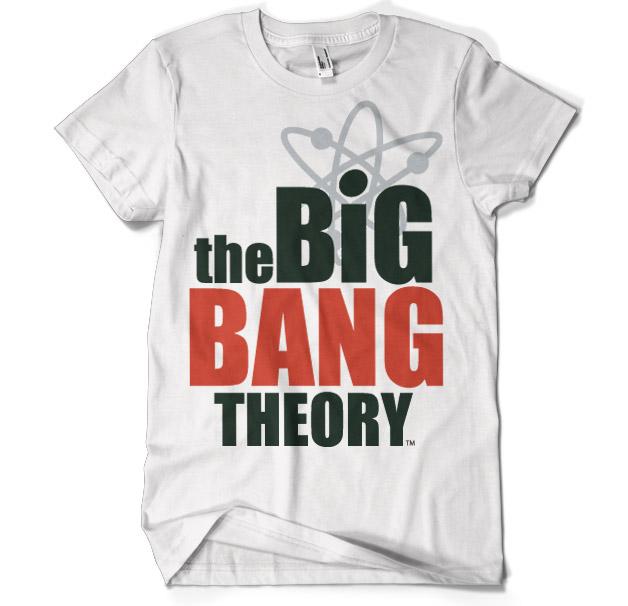 Tričká The Big Bang Theory / Teória veľkého tresku