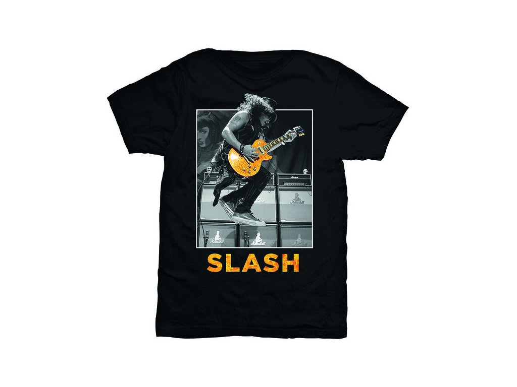 Pánske tričko Slash Guitar Jump (Veľkosť XXL)