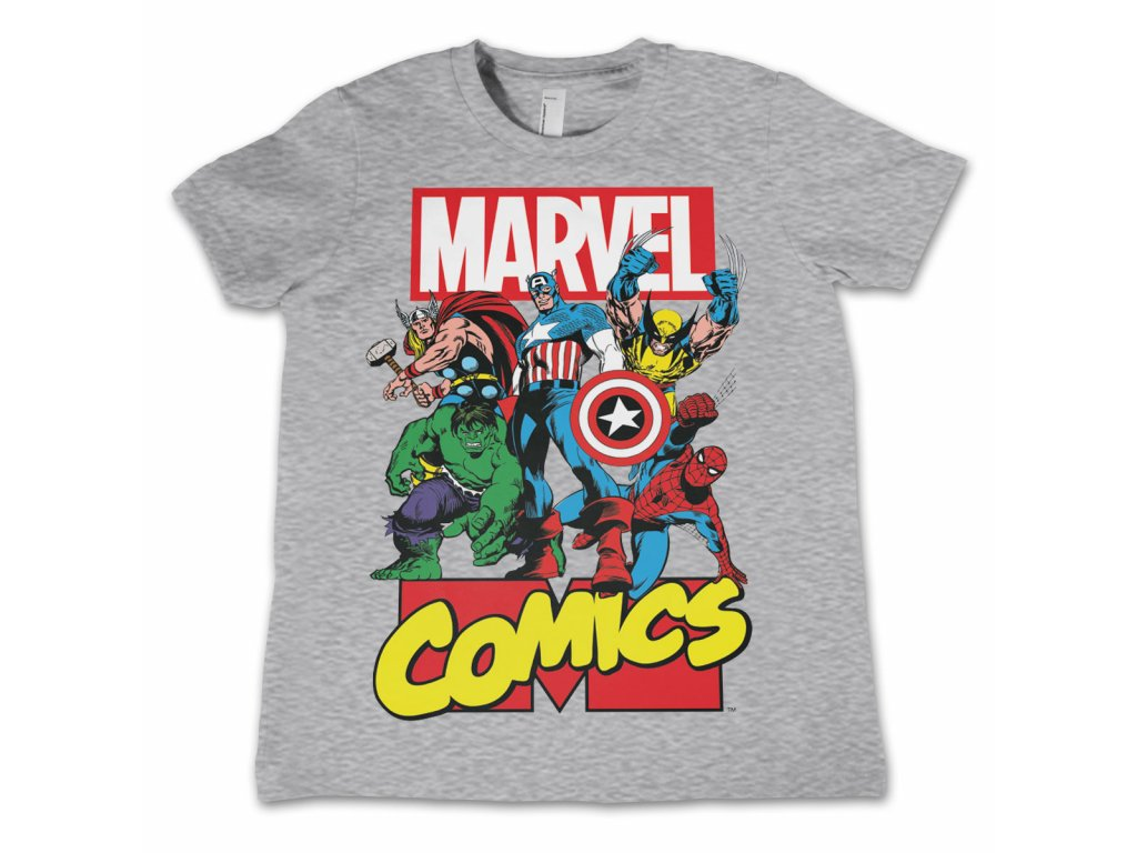 abf1cedf62bb DSN 12 MRV001 b · Detské tričko Marvel Comics Heroes ...