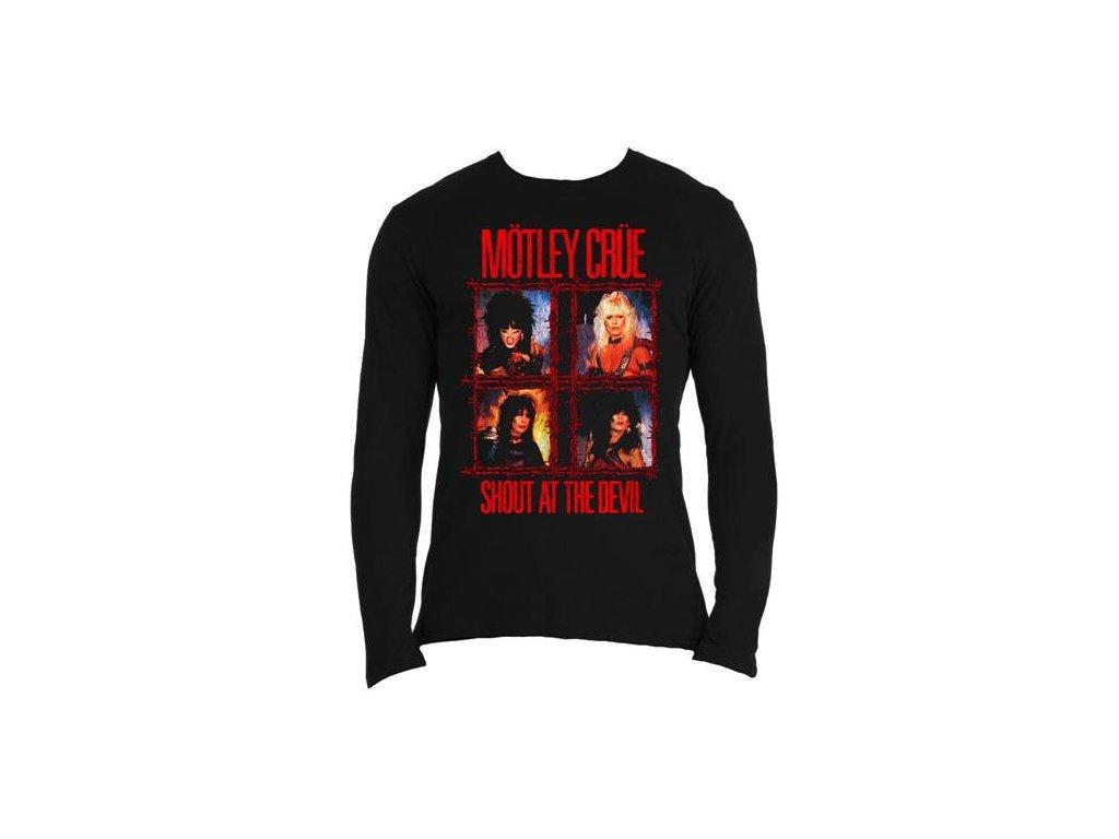 Pánske tričko s dlhým rukávom Mötley Crüe (Veľkosť XXL)