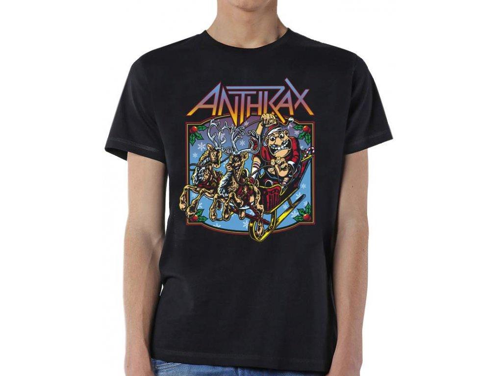 Pánske tričko Anthrax Christmas is Coming (Veľkosť XXL)