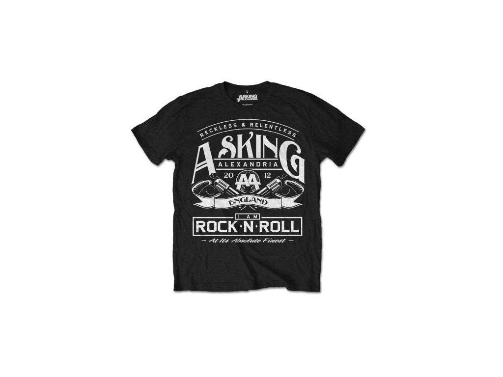 Pánske tričko Asking Alexadria Rock n' Roll (Veľkosť XXL)