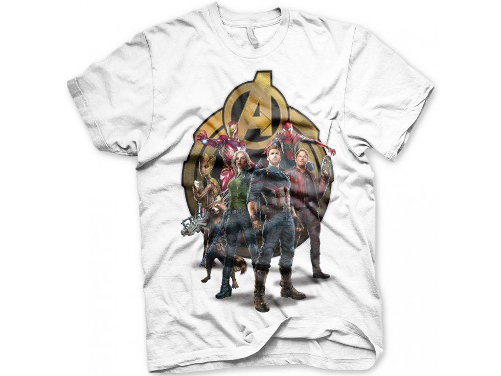 a05c1664613e Pánske tričko Avengers Infinity War Team Up - Ibamusic.sk