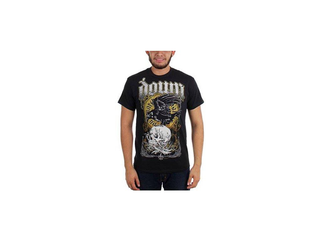 Pánske tričko Down SKULL (Veľkosť XXL)