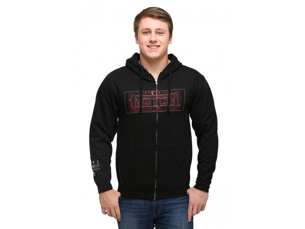 tool red face hoodie 3