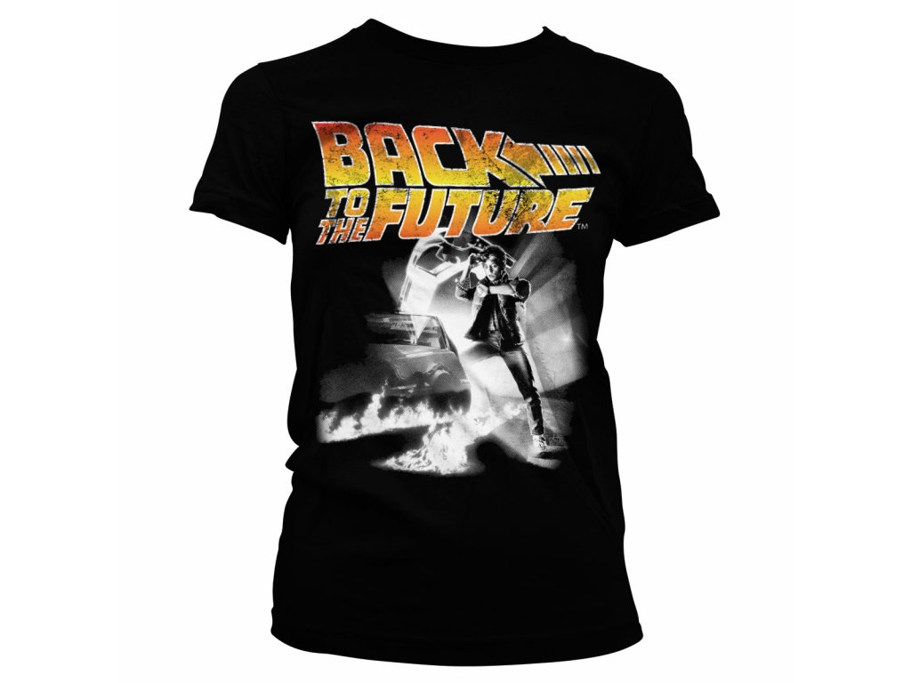 2ce8b5d2cdd2 Dámske tričko BACK TO THE FUTURE POSTER - Ibamusic.sk