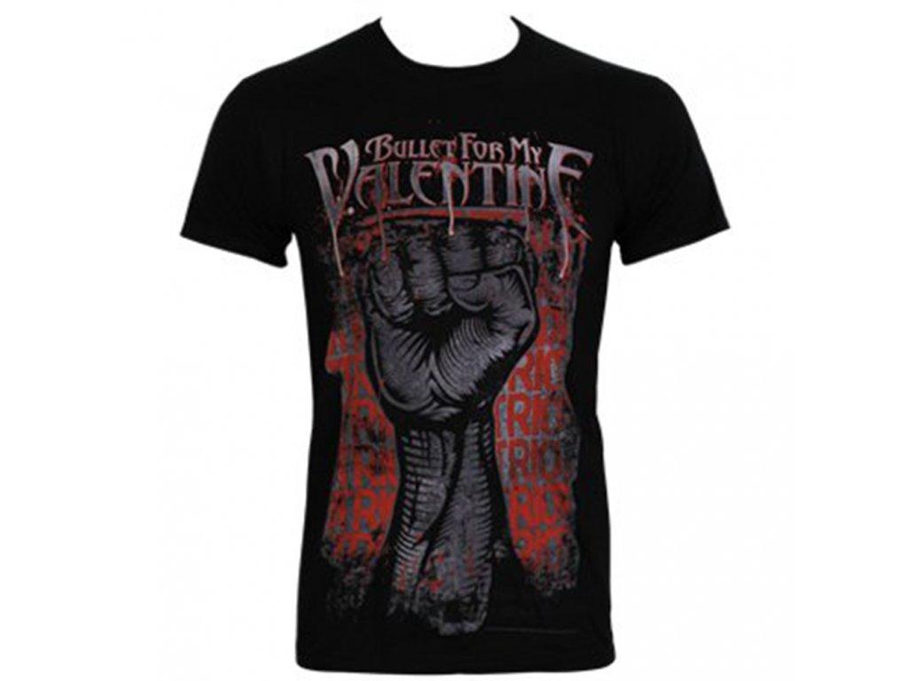 Pánske tričko Bullet For My Blood Riot (Veľkosť XXL)