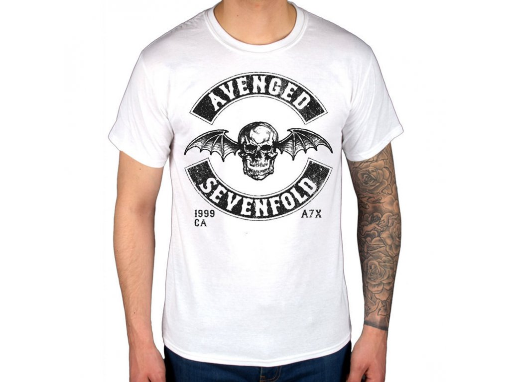 9665c0768a64 Tričko Avenged Sevenfold Moto Seal
