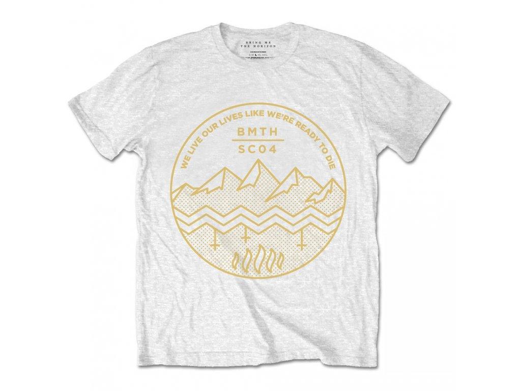 Pánske tričko Bring Me The Horizon Shadow Moses (Veľkosť XXL)