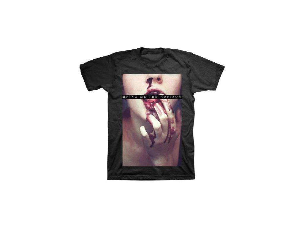 Pánske tričko Bring Me The Horizon Blood (Veľkosť XXL)