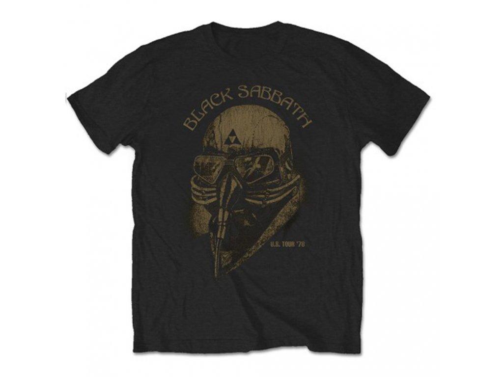 Pánske tričko Black Sabbath US Tour 78 (Veľkosť XXL)