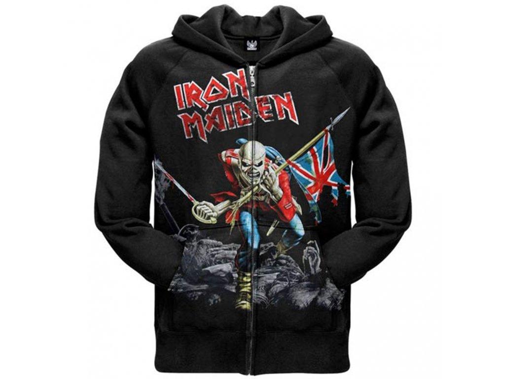 Pánska mikina Iron Maiden SCUFFED TROOPER (Veľkosť XL)