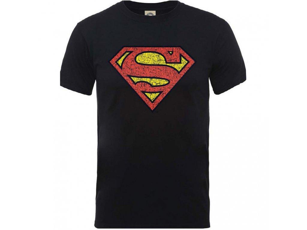 Pánske tričko ORIGINALS SUPERMAN SHIELD CRACKLE LOGO - Ibamusic.sk 5f22759a2a