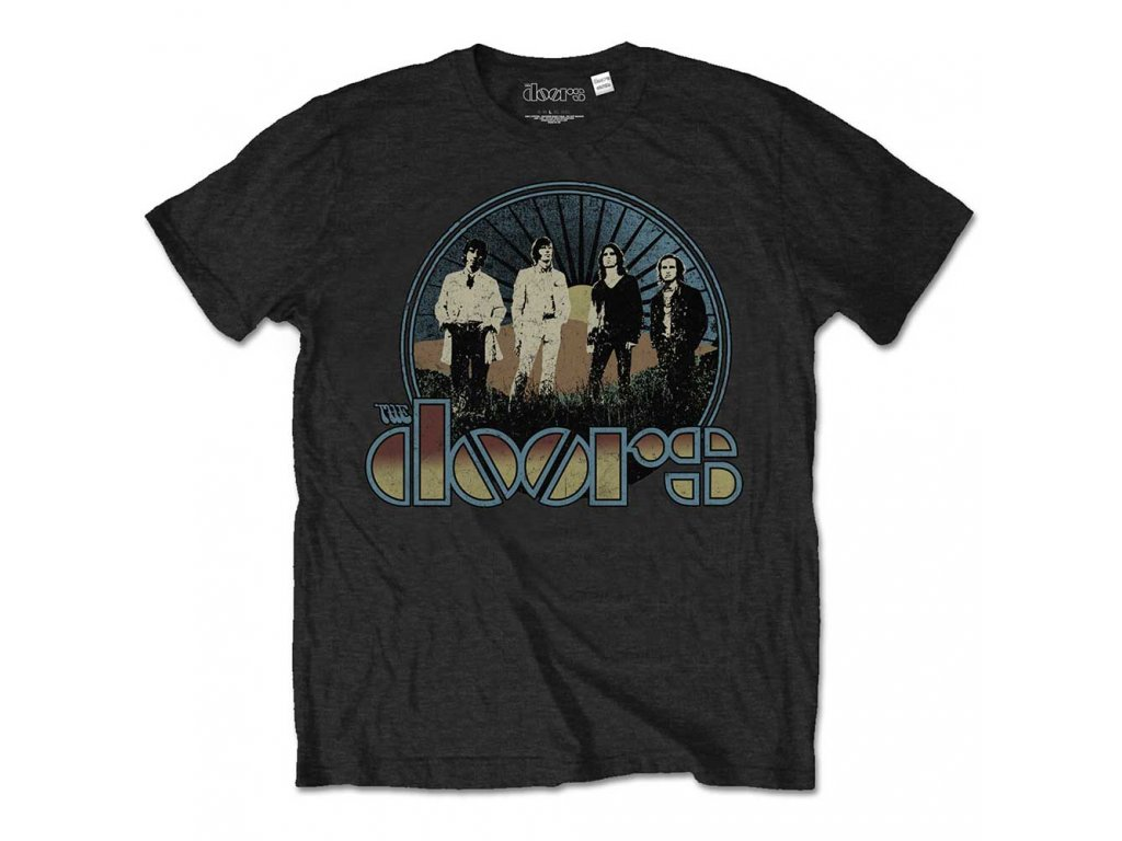 Pánske tričko The Doors VINTAGE FIELD (Veľkosť XXL)