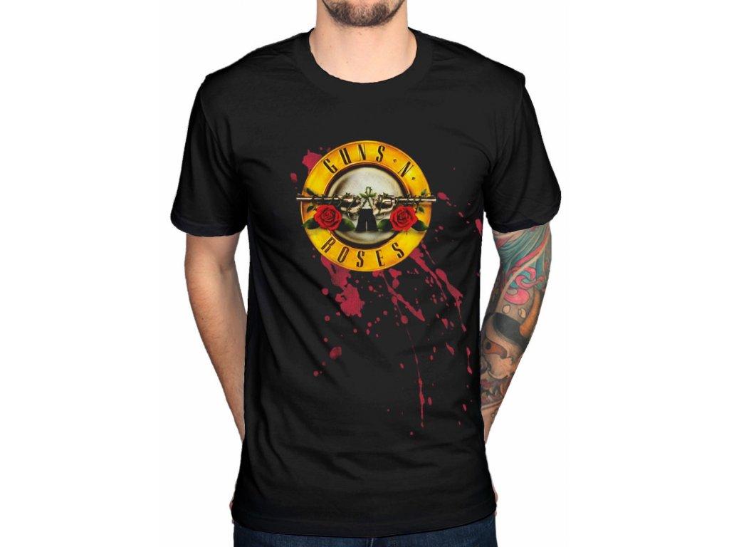 Pánske tričko Guns N Roses (Veľkosť XXL)