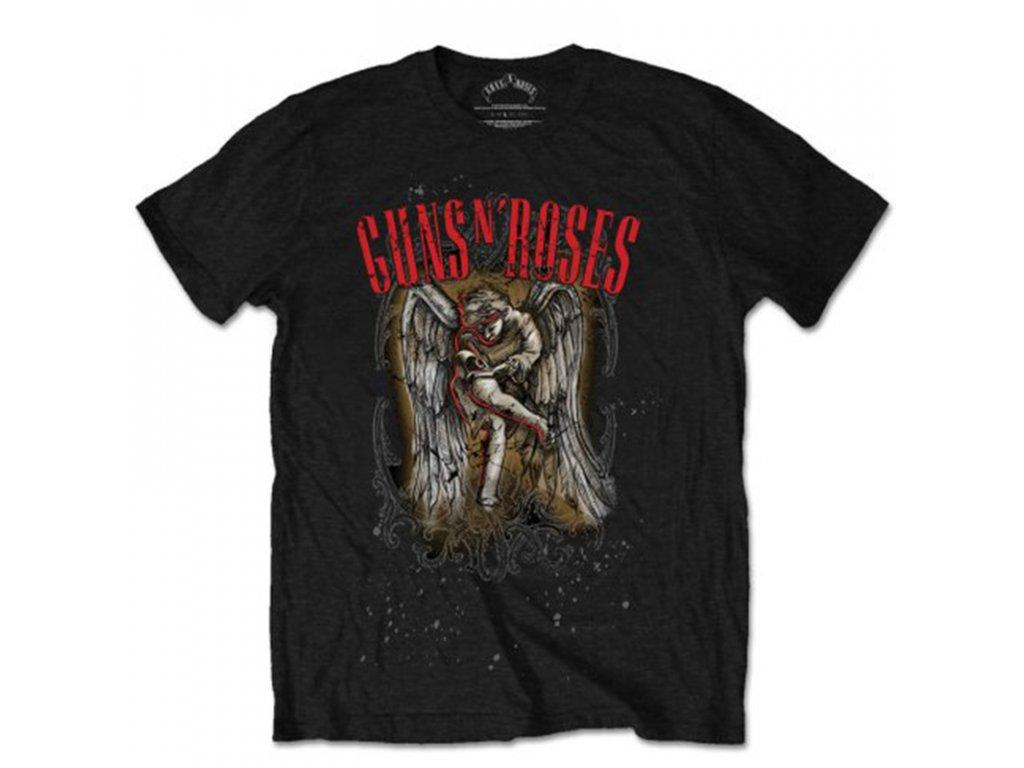 Pánske tričko Guns N' Roses Sketched Cherub (Veľkosť XXL)