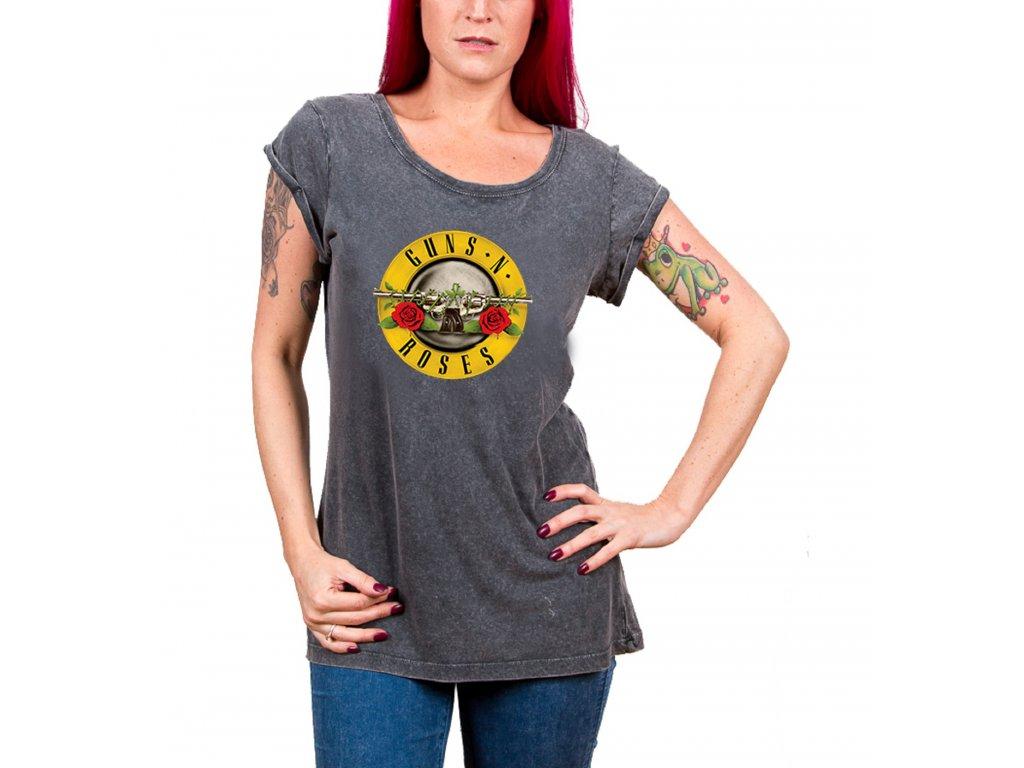 Dámske tričko Guns N' Roses (Veľkosť XL)