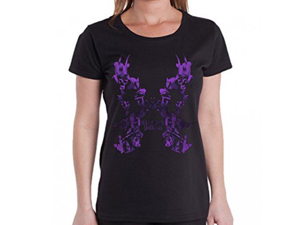 Dámske tričko HOLLYWOOD UNDEAD KISSING DOVE (Veľkosť XL)