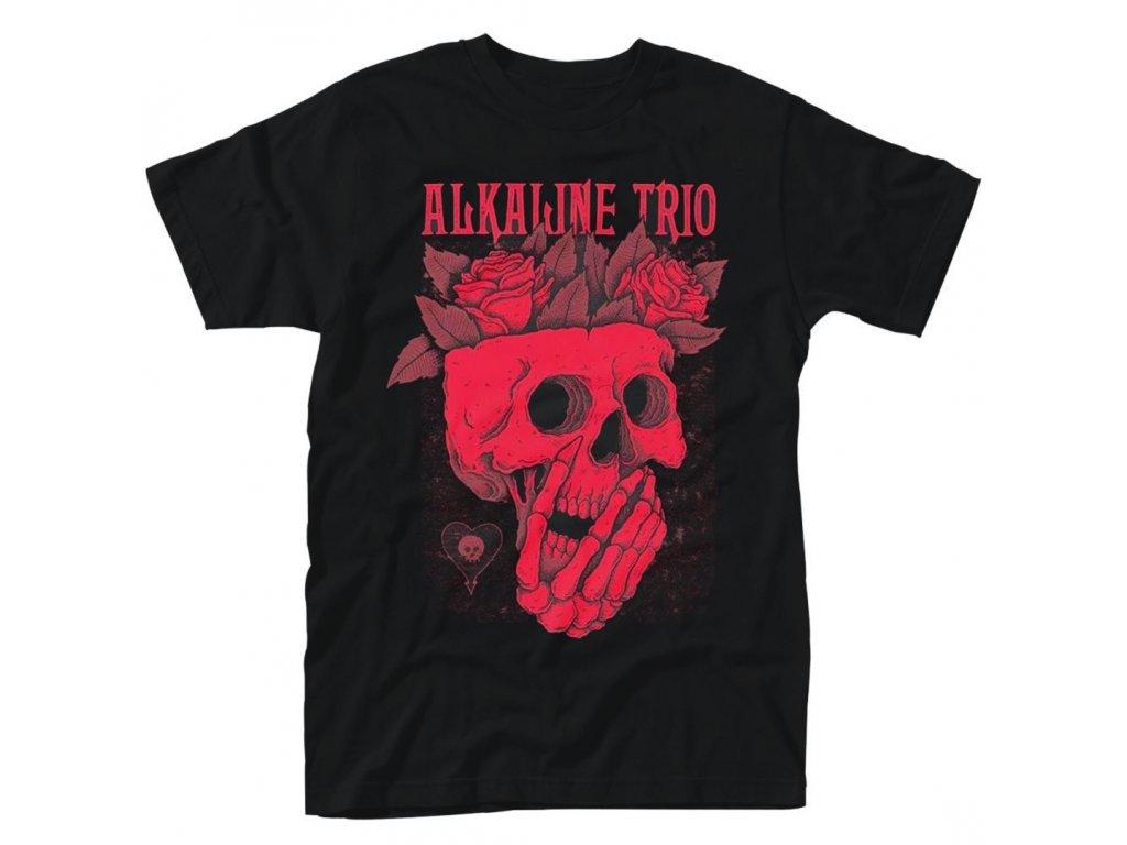 Pánske tričko ALKALINE TRIO SKULL ROSE (Veľkosť XXL)
