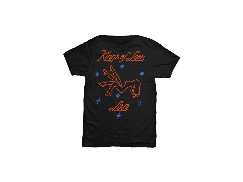 Pánske tričko Kings of Leon Stripper (Veľkosť XXL)