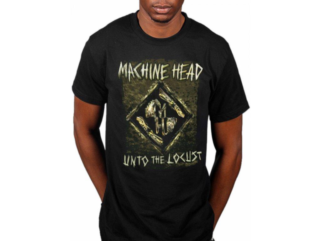 Pánske tričko Machine Head Locust Diamond Tonefield (Veľkosť XXL)
