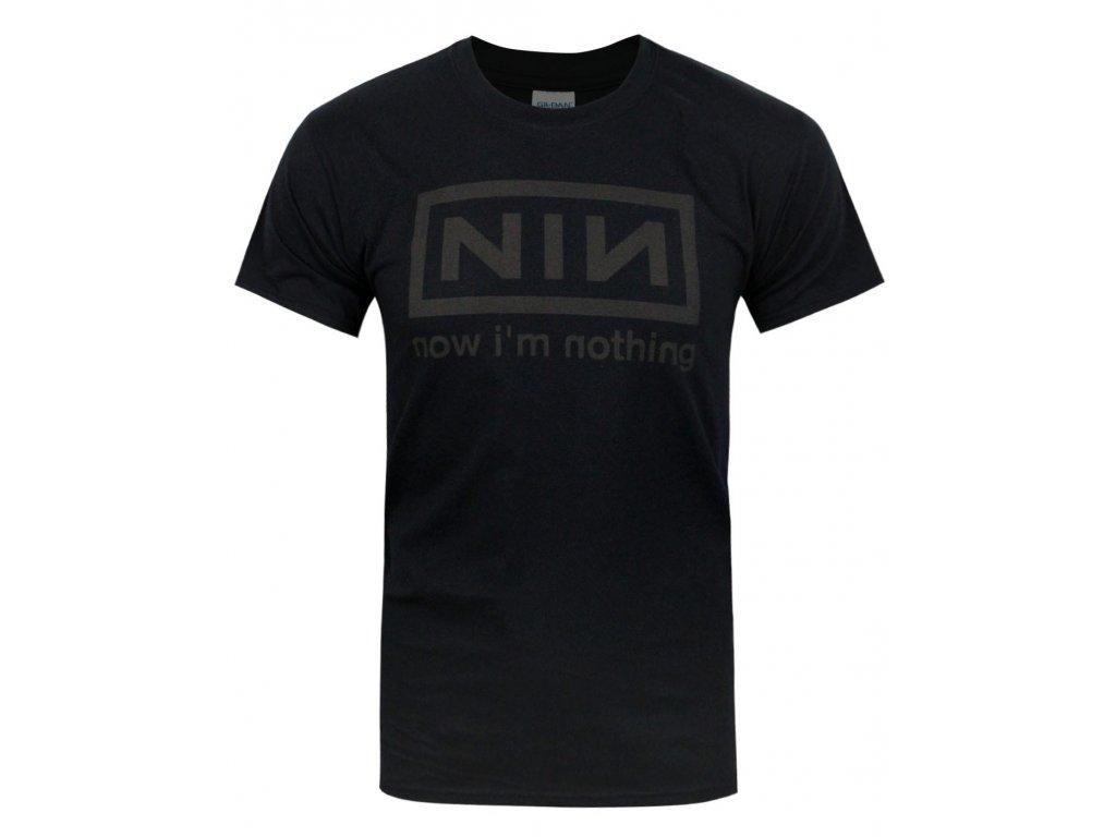 Pánske tričko Nine Inch Nails Now I'm Nothing (Veľkosť XXL)