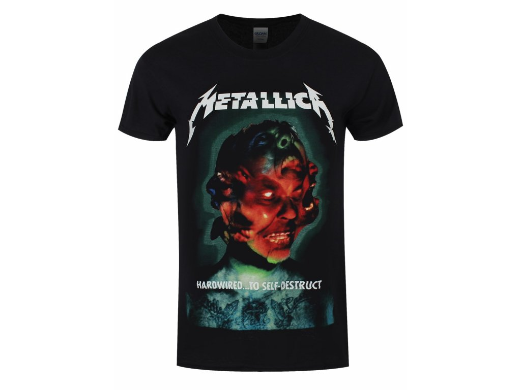 Pánske tričko Metallica Hardwired Album Cover