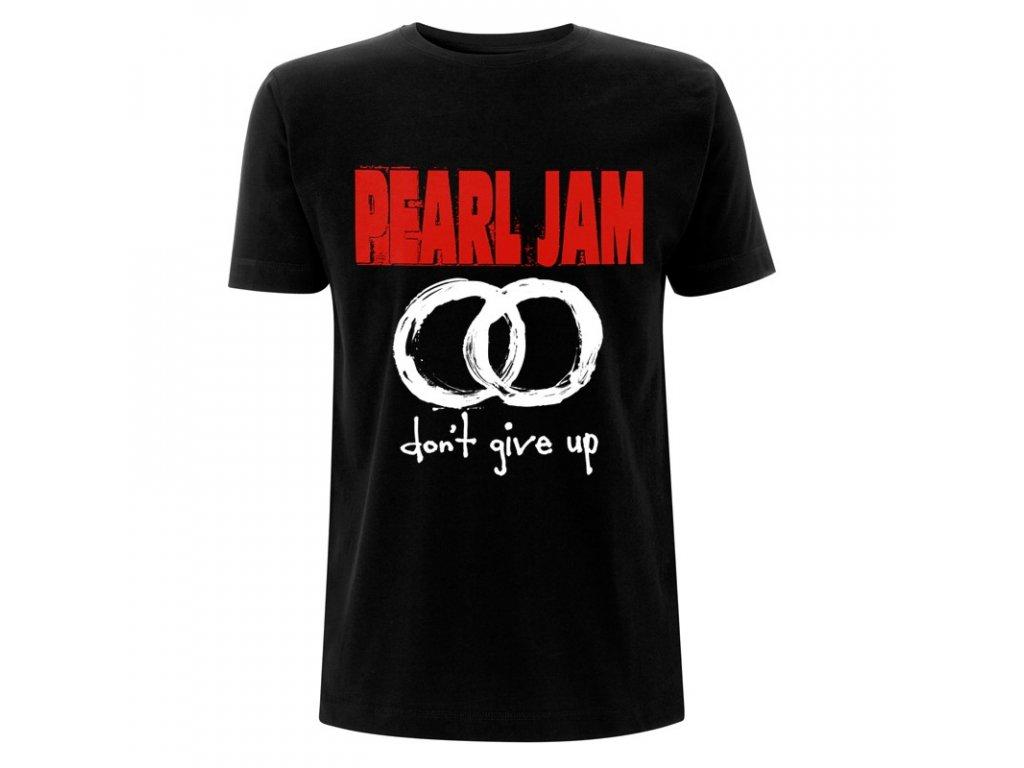 RTPEATSBDON Pearl Jam Dont Give Up Black T
