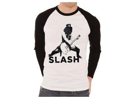 Pánske tričko s dlhým rukávom Slash (Veľkosť XXL)