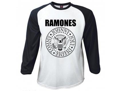 Pánske tričko s dlhým rukávom The Ramones (Veľkosť XXL)