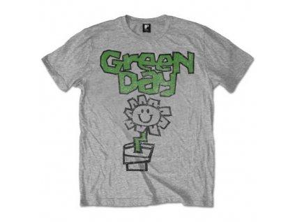 Pánske tričko Green Day Flower Pot (Veľkosť XXL)