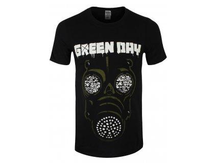 Pánske tričko Green Day Green Mask (Veľkosť XXL)