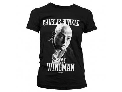 Dámske tričko Charlie Runkle Is My Wingman