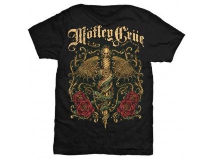 Pánske tričko Mötley Crüe Exquisite Dagger (Veľkosť XXL)