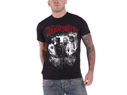 Pánske tričko Mötley Crüe Greatest Hits Band Shot (Veľkosť XXL)