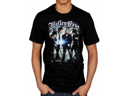 Pánske tričko Mötley Crüe Group Photo (Veľkosť XXL)