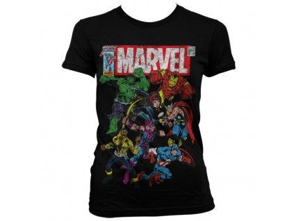 Dámske tričko Marvel Team-Up