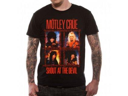 Pánske tričko Mötley Crüe Shout Wire (Veľkosť XXL)
