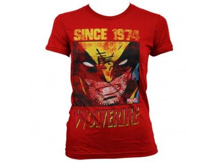 Dámske tričko Wolverine Since 1974