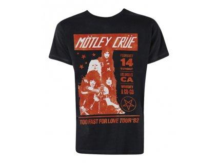 Pánske tričko Mötley Crüe Whisky Go Go (Veľkosť XXL)