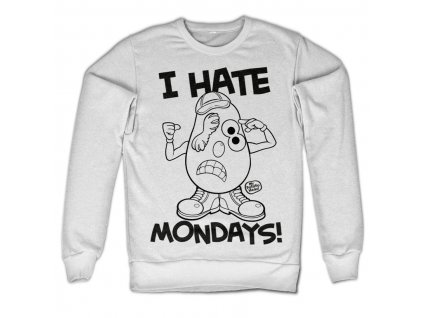 Mr Potato Head - I Hate Mondays Sweatshirt