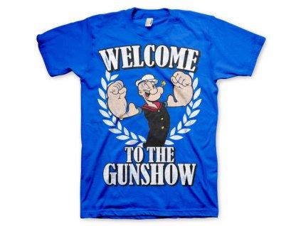 Pánske tričko Popeye - Welcome To The Gunshow