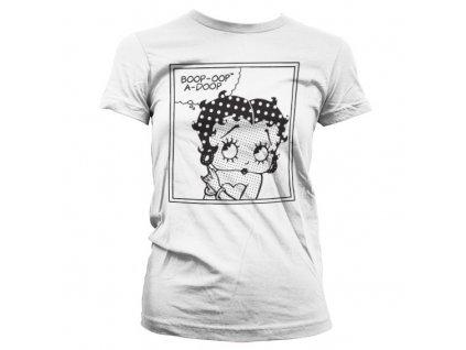 Dámske tričko Betty Boop Comic